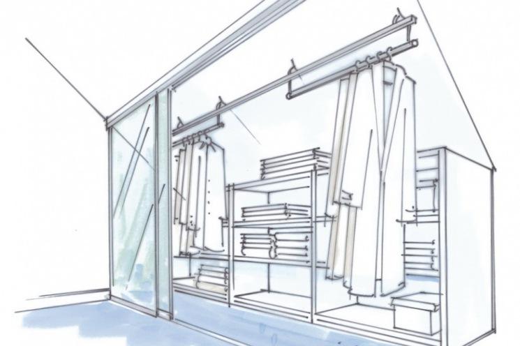 dressglider doppelte tiefe. Black Bedroom Furniture Sets. Home Design Ideas