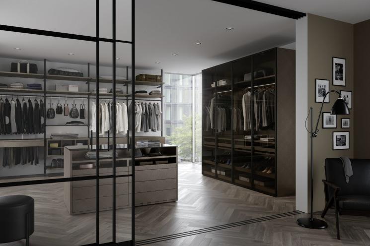 schrankraum begehbar. Black Bedroom Furniture Sets. Home Design Ideas