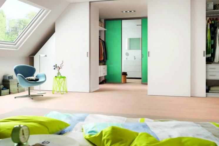 Raumteiler Für Dachschrä schiebetür dachschräge