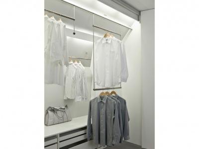 verschiebbare kleiderstange. Black Bedroom Furniture Sets. Home Design Ideas